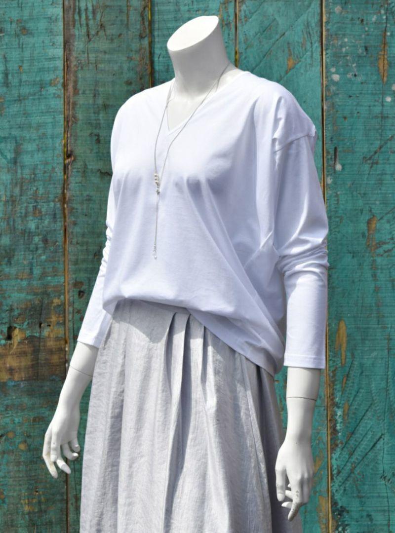 最高級超長綿使用カットソートップス3色展開 [ファンタスティック2018][encolorage] The Queen of Cotton Cut&SewnTops [ Fantastic2018 ]